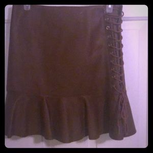 Dresses & Skirts - Brown mini skirt